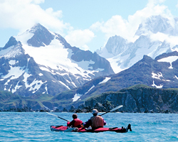 Kayaking the untamed shores of Antarctica.