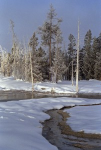 "Are the snows of ""Yellowstone National Park"" any more beautiful than … ©John T. Andrews."
