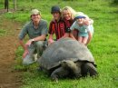 Our family will never forget meeting wild giant tortoises in the Galapagos!