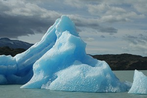 Iceberg in New Zealand