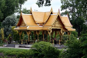 We have the only sala in the continental United States, a gift from the people of Thailand to the people of Madison. ©John T. Andrews.