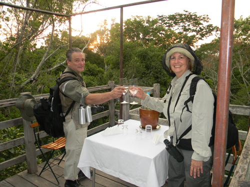 Cheers in the amazon, natural habitat adventures jayme otto