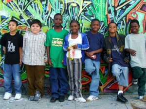 Kids in South Central L.A.
