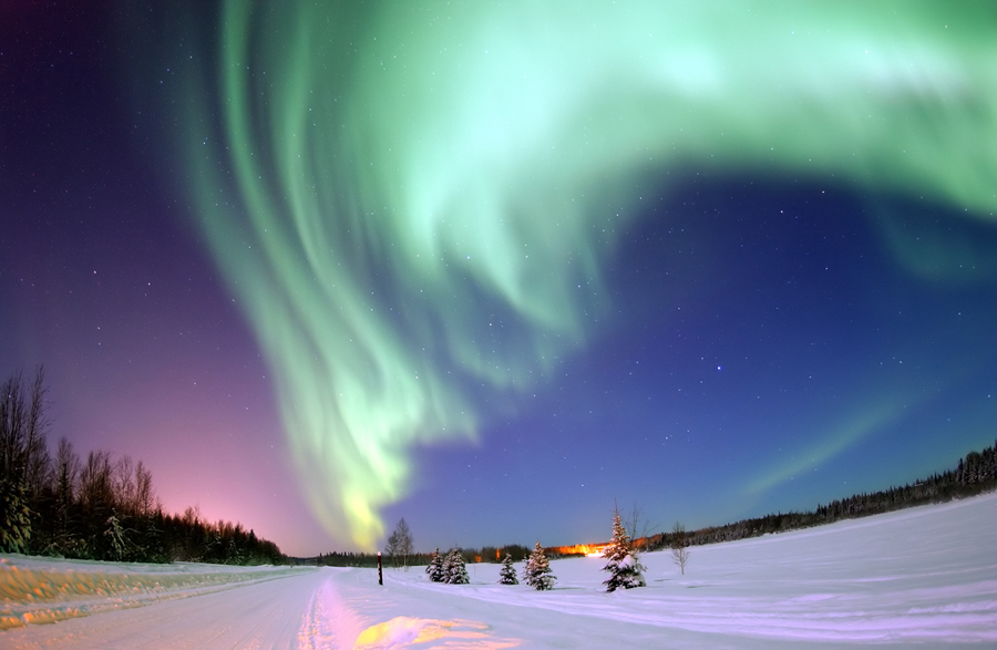 Northern Lights: Nature's Winter Magic