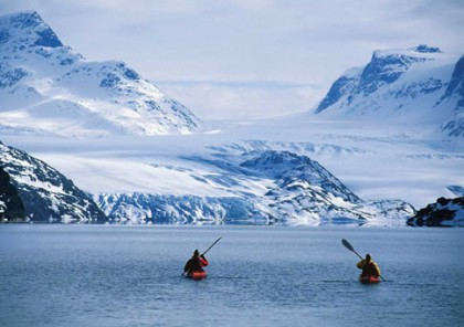 Global Warming From The Seat Of A Kayak Greenland