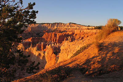 Bryce Canyon at sunrise