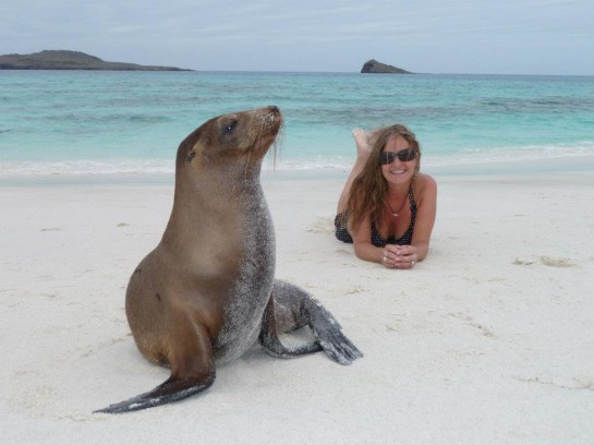 Only in the Galapagos!