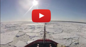 Beat the Heat: Five Minutes on an Antarctica Icebreaker