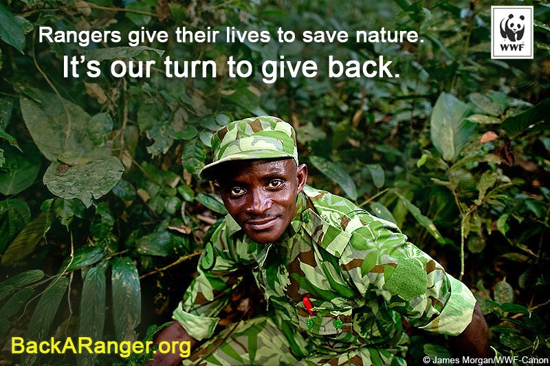 Back a Ranger & Help Stop Wildlife Crime