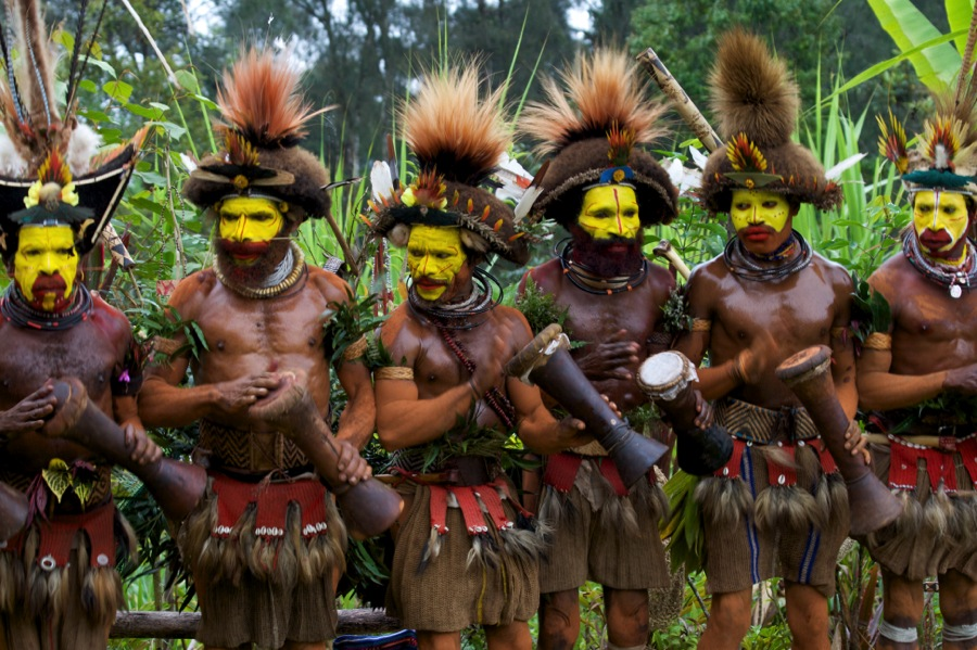 Huli Warriors, Papua New Guinea