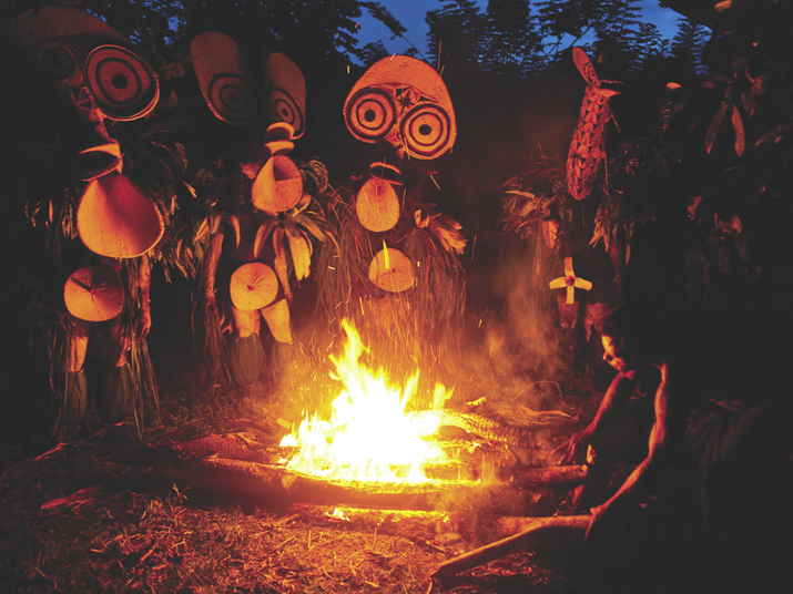 Baining Tribe Fire Dancers, Papua New Guinea with Natural Habitat Adventures