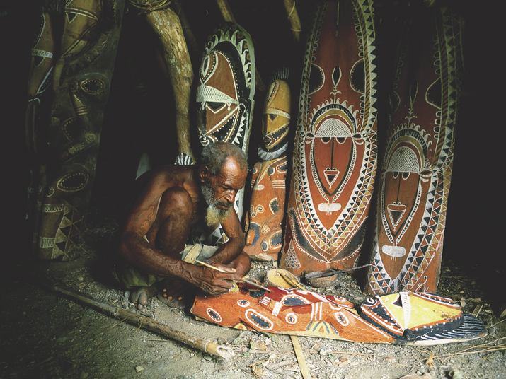 Sepik Wood Carving in Papua New Guinea