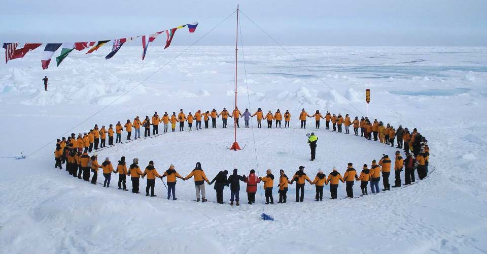 50 Years of Victory North Pole Expedition