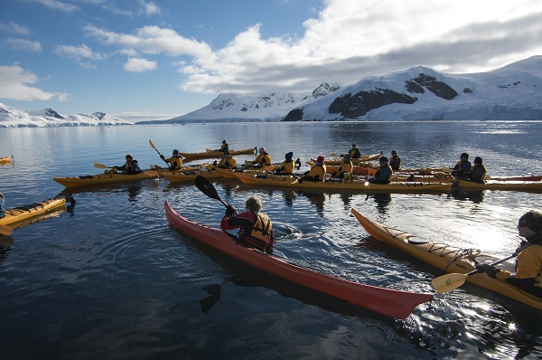 Antarctica kayaking excursion