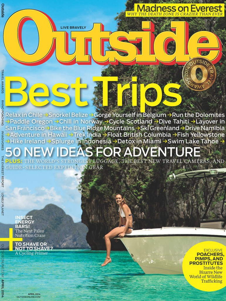 Outside Magazine 2014 Travel Awards Best Guides