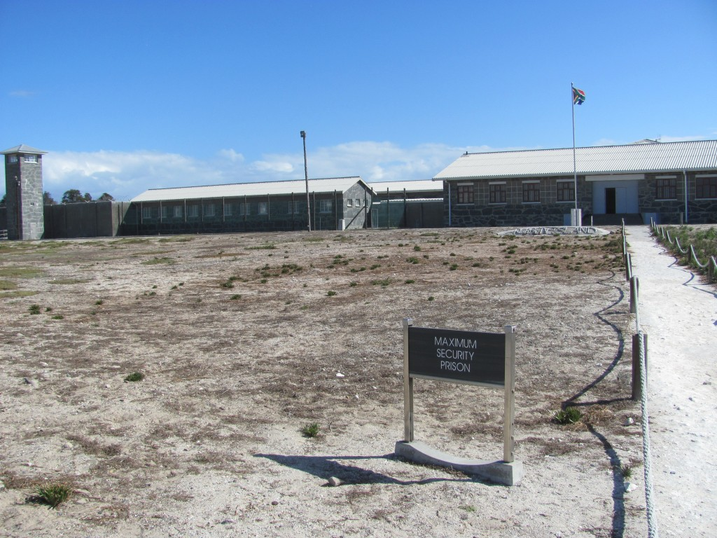 Maximum Security Prison where Nelson Mandela was imprisoned in South Africa