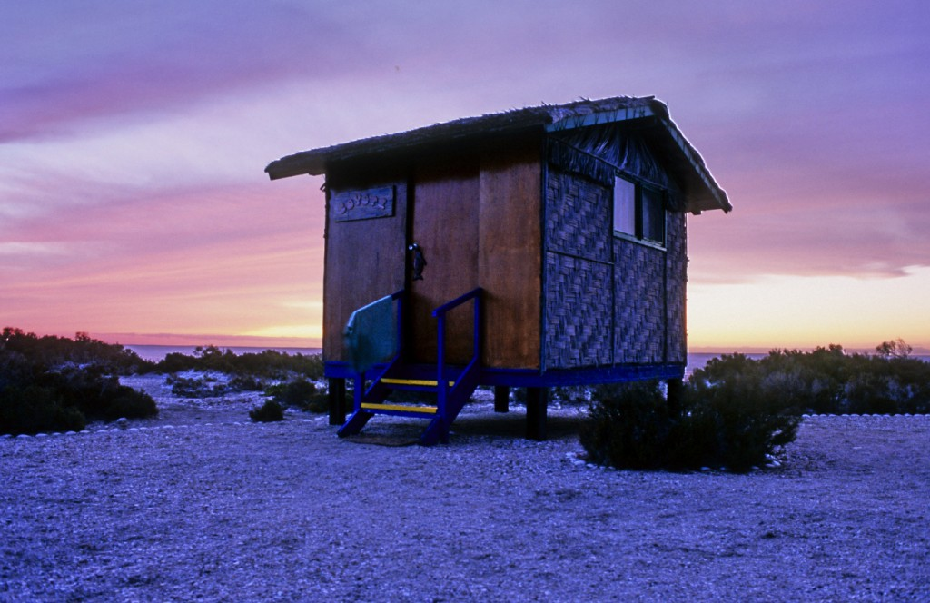 Whale Cabins on the Baja Peninsula