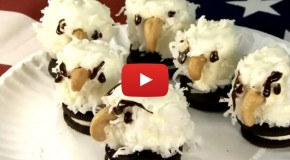 Video of the Week: Celebrate 4th of July by Making This Adorable Bald Eagle Treats Recipe