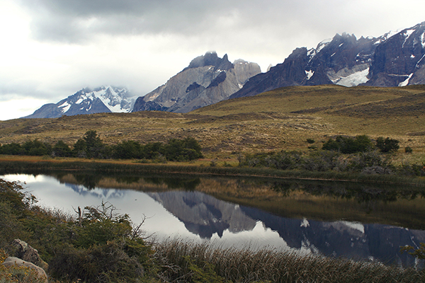 Patagonia reflection