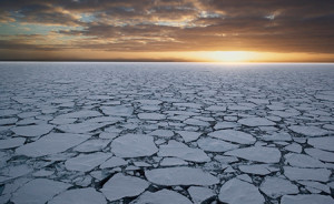In Antarctica, while sea ice is on the rise, land ice is diminishing. ©John Weller