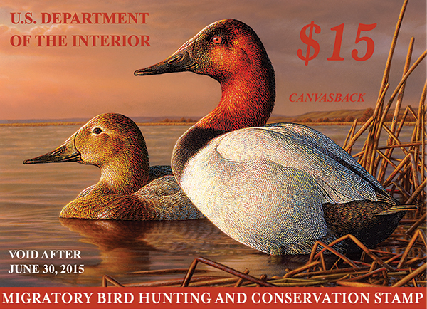 2014-2015 duck stamp