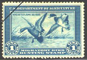 1934-1935 duck stamp