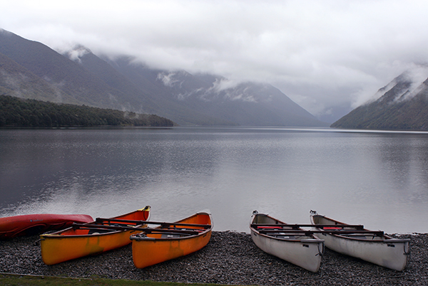 New Zealand is filled with spectacular waterfalls, snow-capped peaks and stunning fiords. ©Candice Gaukel Andrews