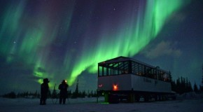 PHOTOS: Nat Hab's New Aurora Pod & Stunning Northern Lights