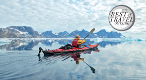 "Outside Magazine Names NHA's Base Camp Greenland ""Best Splurge"" in 2015 Travel Awards"