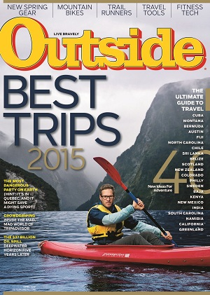 Outside April 2015 Cover
