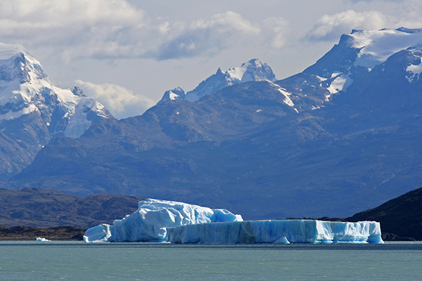 The Patagonia Plateau holds magnificent mountains, breathtakingly beautiful glaciers and dazzling icebergs. ©Candice Gaukel Andrews