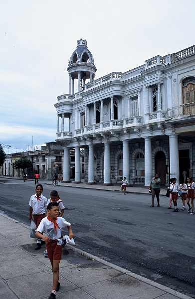 School children in Cuba