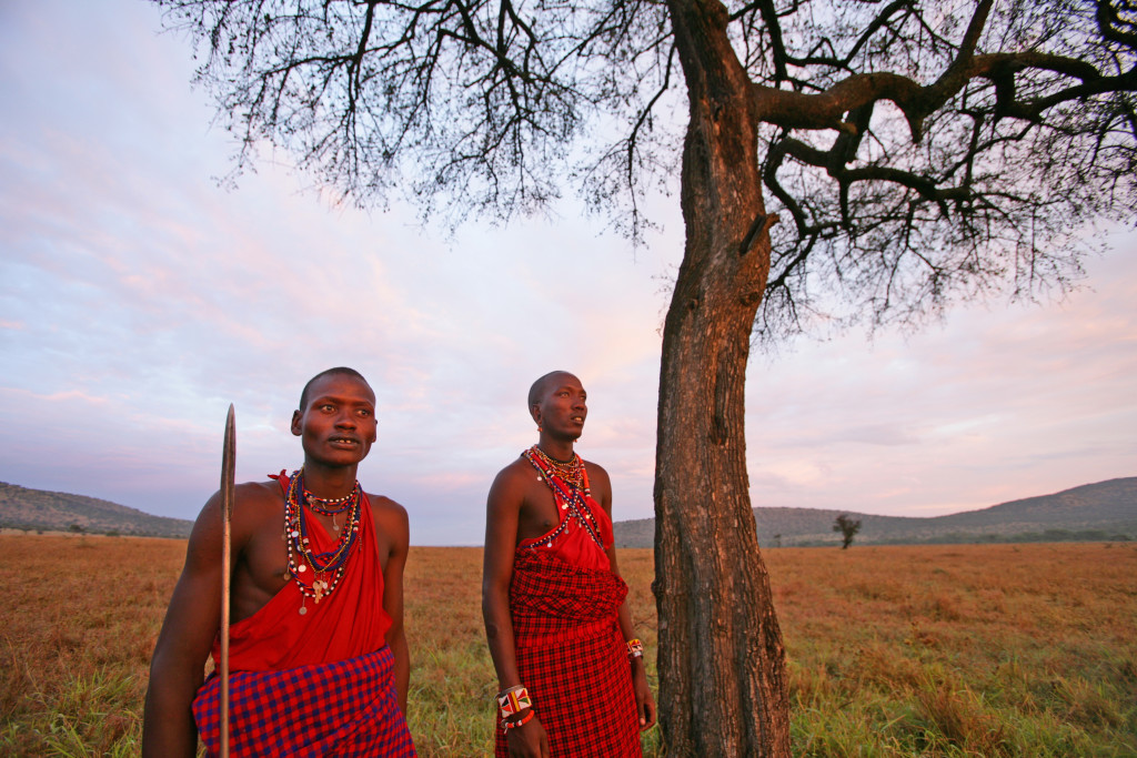 Maasai at Mara Siana Conservancy, Kenya