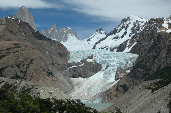 Patagonia has long been a magnet for wanderers and those who seek the ice. ©Jennifer Bravo