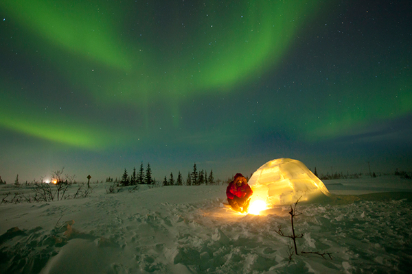 Native peoples throughout the world have stories about genesis and nature of the northern lights. ©Court Whelan