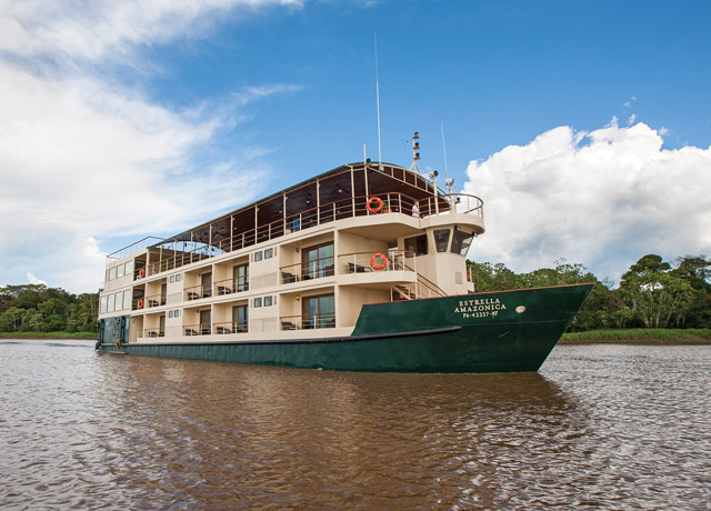 The newly-built La Estrella Amazonica