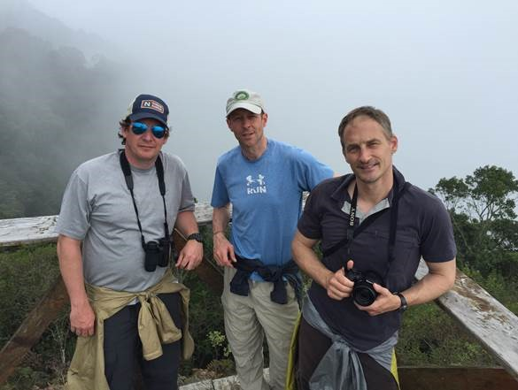 NHA staff from left to right: Creative Director Mark Hickey, Senior Adventure Specialist Greg Courter, Vice President Rick Guthke. Photo (c) Greg Courter.