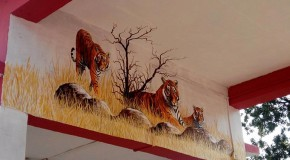 Tigers and Jungle Scenes Decorate Indian Train Station to Inspire Conservation