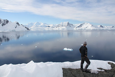 "I prefer an Antarctica where ""visitors do not remain."" ©Ted Martens"
