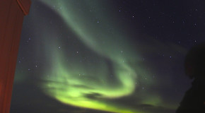 Green Glimmer of the Northern Lights