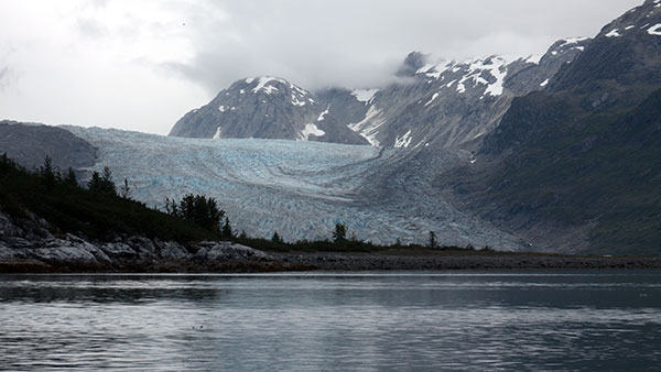 Glacier Bay National Park in Southeast Alaska has 15,000-foot, snowcapped mountain ranges, deep fjords and tidewater glaciers. What stays with me most, though, is its quiet nature. ©Candice Gaukel Andrews