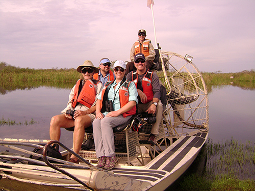 Audubon Florida operates airboat tours of the Arthur R. Marshall Loxahatchee National Wildlife Refuge. ©South Florida Water Management District, flickr