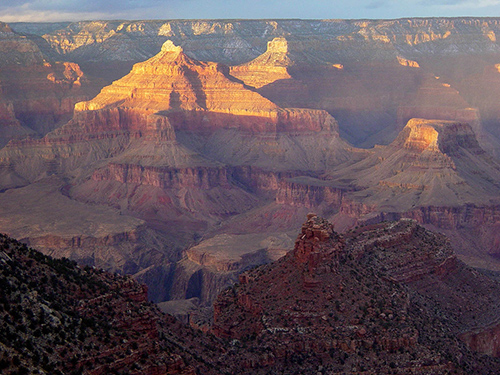 In 2015, Grand Canyon National Park had more than five million visitors, the highest ever for the park. ©Michael Quinn, National Park Service