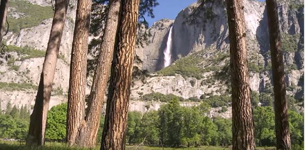 "Is the ""peace and quiet"" of natural landscapes a true absence of noise? ©From the video ""Yosemite Nature Notes: Soundscapes,"" Yosemite National Park"