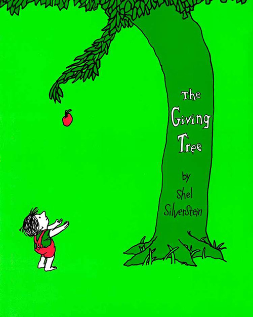 selflessness versus selfishness in the giving tree by shel silverstein Philosophy for kids  the giving tree by shel silverstein  not only gives her pleasure and the concepts of selfishness and selflessness objectivist ethics.