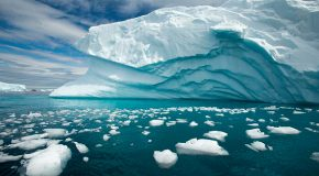Larsen Ice Shelf Breakoff: Our Future in Ice