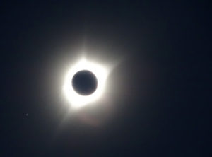 Totality over Sunrise, Wyoming