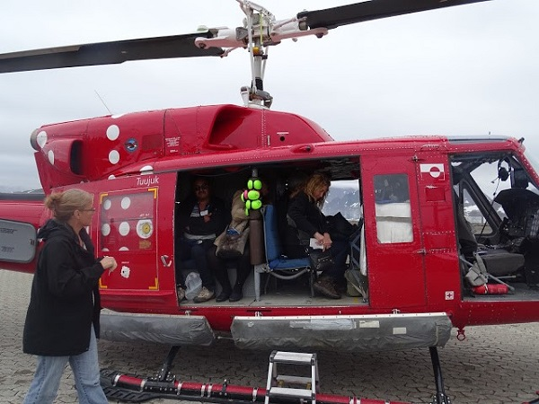 Greenland helicopter tour