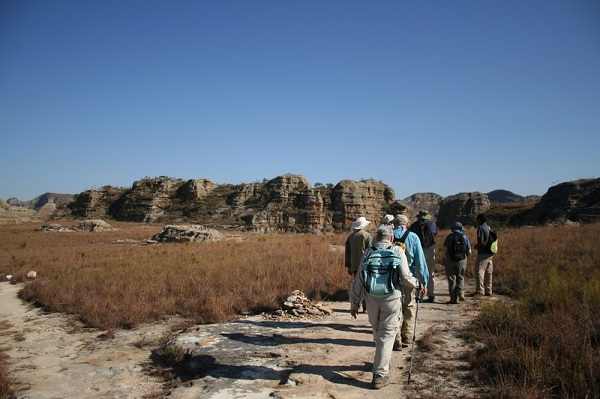Hiking in Africa with a small group