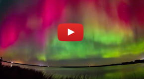 Video: the Aurora Borealis over Scotland